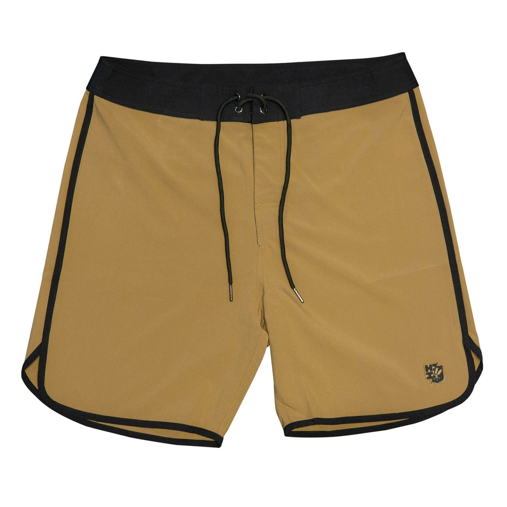 TAN HIFI PERFORMANCE BOARDSHORTS Shorts Hawaii's Finest