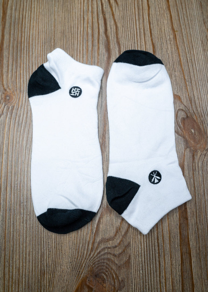 WHITE SOCKS (ALL SALES FINAL) Socks Hawaii's Finest