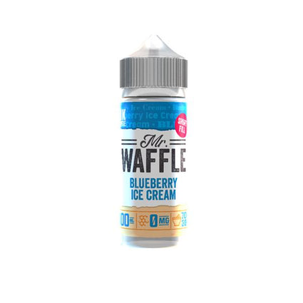E-liquid-vape-mr-waffle-Blueberry-Ice-Cream-100ml-juice-70vg