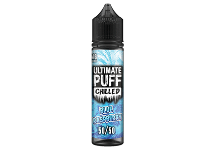 Ultimate-puff-50ml-Blue-Raspberry-Chilled-50vg-e-liquid-vape-juice