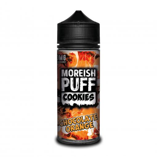 chocolate-orange-moreish-puff-cookies-100ML-SHORTFILL-E-LIQUID-70VG-0MG-USA-VAPE-JUICE