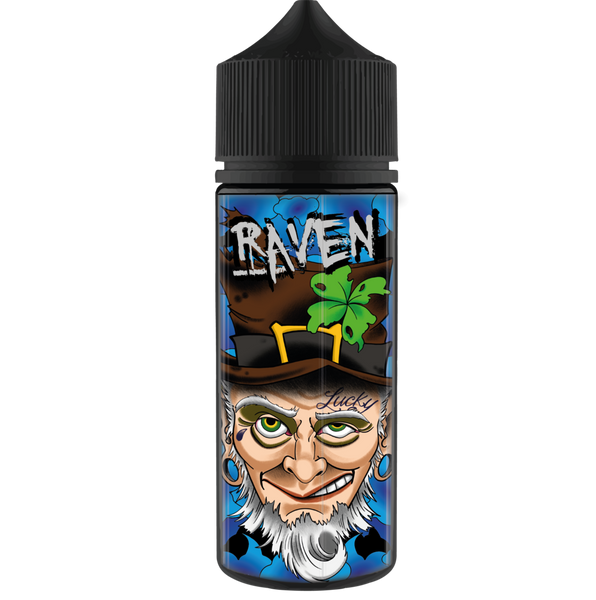 Lucky-thirteen-Raven-100ml-e-liquid-juice-70vg-sub-ohm-shortfill-vape