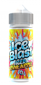 Iced-blast-Iced-Pineapple-100ml-liquid-juice-vape-70vg