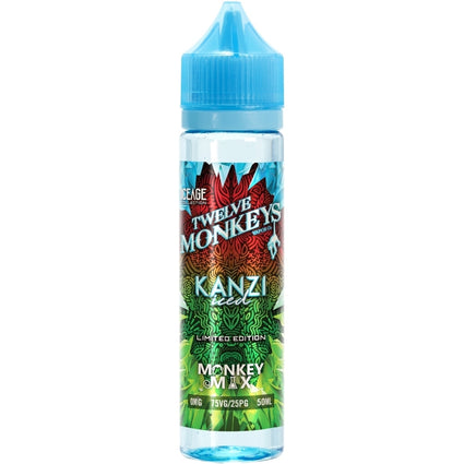 KANZI-ICED-twelve-12-monkeys-50ML-SHORTFILL-E-LIQUID-0MG-VAPE-JUICE-75vg