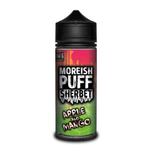 apple-mango-moreish-puff-sherbet-100ML-SHORTFILL-E-LIQUID-70VG-0MG-USA-VAPE-JUICE