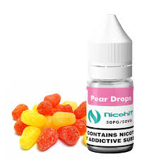 PEAR-DROPS-nicohit-refill-10ml-3MG-6mg-12mg-18mg-e-liquid-juice-vape-50vg