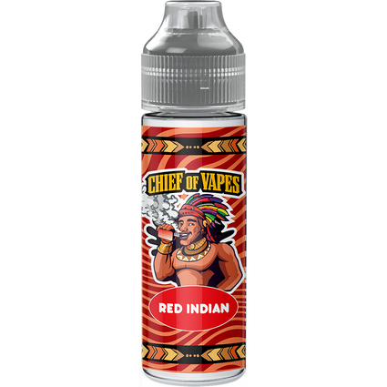 Chief-of-vapes-Red-indian-50ml-e-liquid-juice-vape-70vg-sub-ohm-shortfill