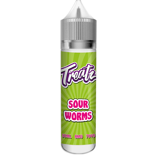 treatz-sour-worms-50ML-SHORTFILL-E-LIQUID-70VG-0MG-USA-VAPE-JUICE