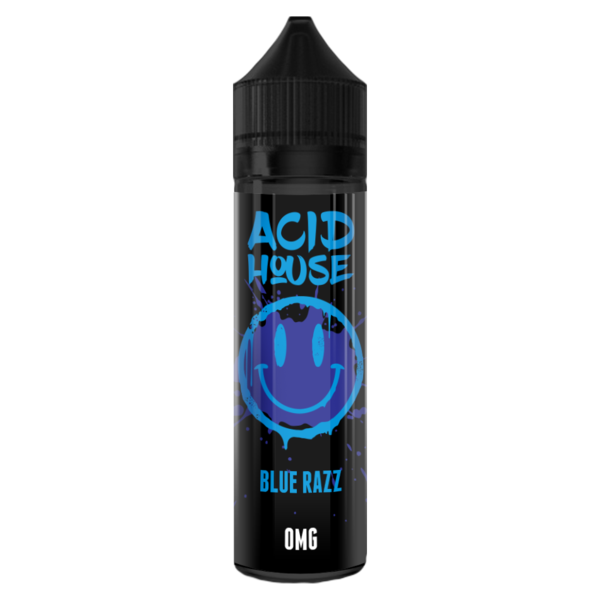 Blue Razz Acid House 50ml E Liquid 70VG Vape Juice Shortfill