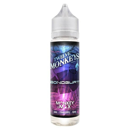 BONUGURT-TWELVE-12-monkeys-50ML-SHORTFILL-0MG-E-LIQUID-75VG-0MG-VAPE-JUICE