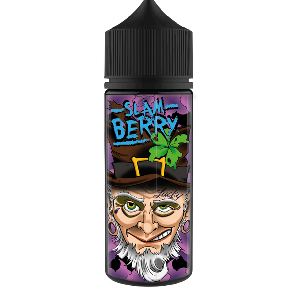 Lucky-thirteen-Slam-berry-100ml-e-liquid-juice-70vg-sub-ohm-shortfill-vape