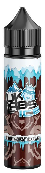 UK Labs Cherry Cola Ice E Liquid E Juice 70vg Vape 50ml Shortfill