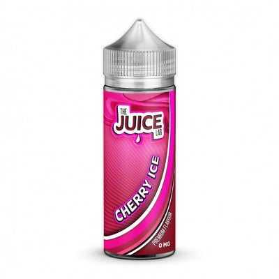 The-juice-lab-Cherry-Ice-100ml-e-liquid-juice-vape-60vg-shortfill