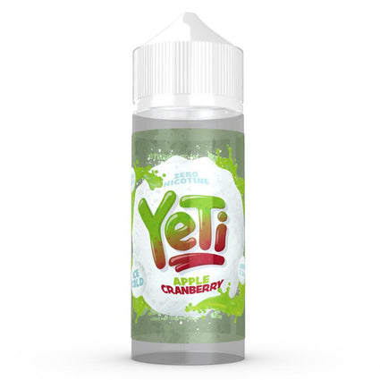 Yeti-Apple-Cranberry-100ml-e-liquid-juice-vape-70vg-shortfill
