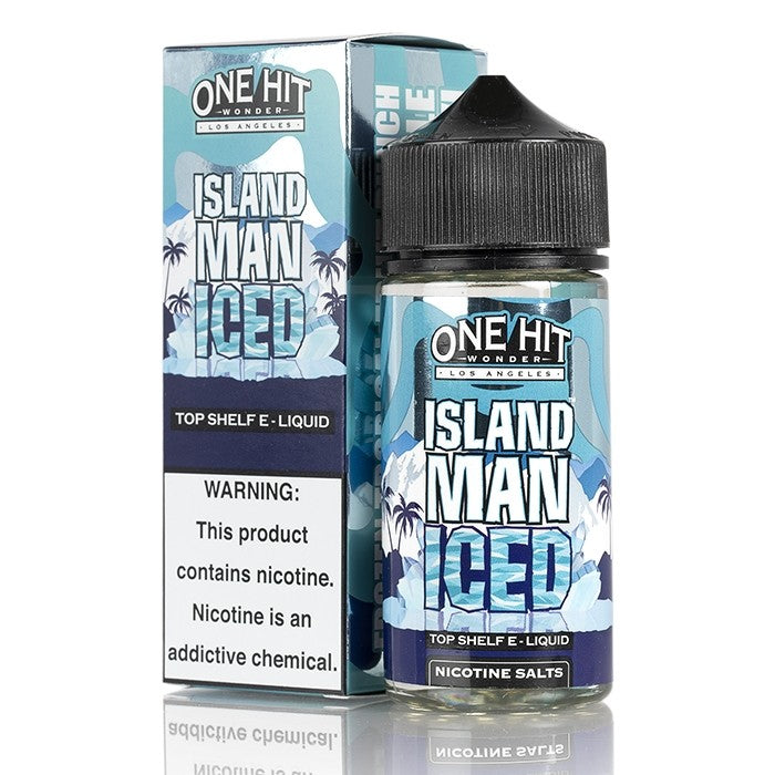 island-man-iced-one-hit-wonder-100ML-SHORTFILL-E-LIQUID-80VG-0MG-USA-VAPE-JUICE
