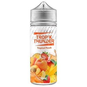 tropical-peach-e-liquid-by-tropik-thunder-100ml-SHORTFILL-E-LIQUID-70VG-0MG-USA-VAPE-JUICE