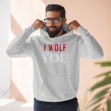 "Load image into Gallery viewer, YOU Netflix - I Wolf ""You"" Hoodie"