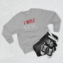 "Load image into Gallery viewer, YOU Netflix - I Wolf ""You"" Sweatshirt"