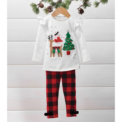 Reindeer and Mouse Tunic Set