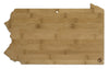 Pennsylvania Bamboo Cutting Board