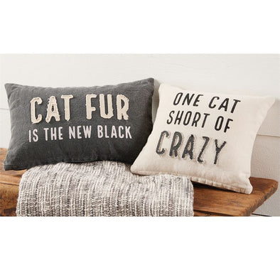 Cat Fur, Canvas Pillow