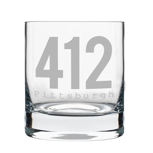 412 Pittsburgh Rocks Glass