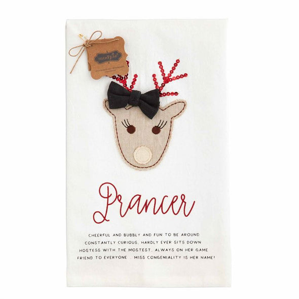 Prancer, Holiday Towel