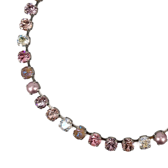 Aurora, 8mm Full Crystal Necklace