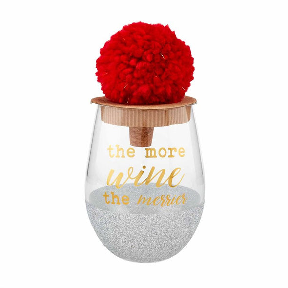 The More Wine the Merrier, Glitter Wine Glass