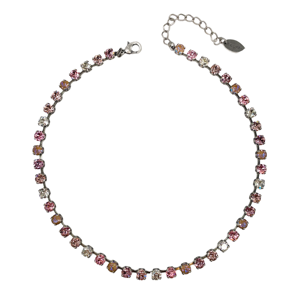 Aurora, 6mm Full Crystal Necklace