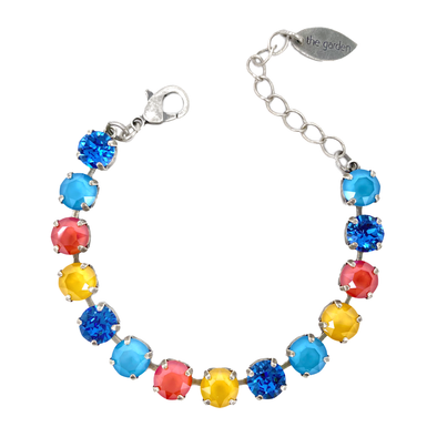 Good Vibes, 8mm Full Crystal Bracelet, Wholesale