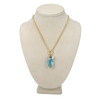 Ella, Long Teardrop Pendant Crystal Necklace
