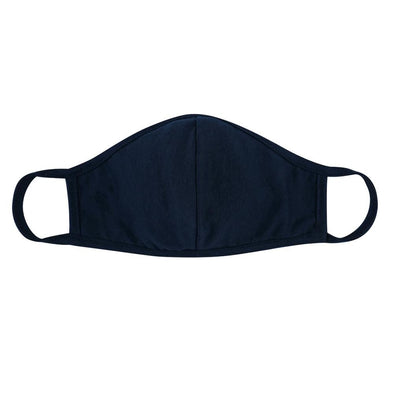 Navy, Face Mask with Seam