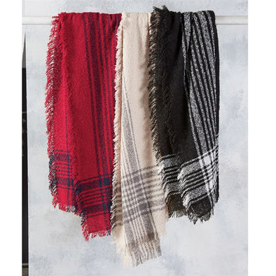 Boucle Square Scarves