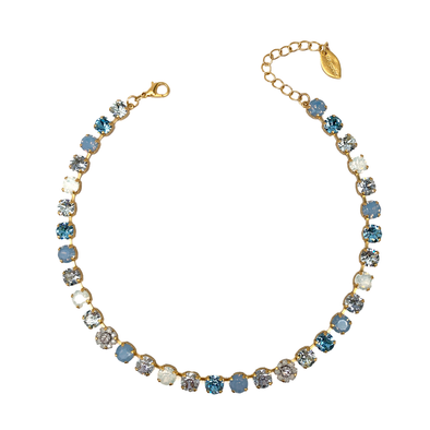 Ella, 8mm Full Crystal Necklace