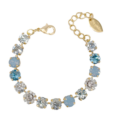 Ella, 8mm Full Crystal Bracelet