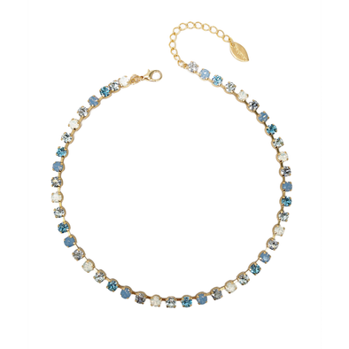 Ella, 6mm Full Crystal Necklace