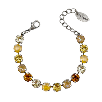 Sunflower, 8mm Full Crystal Bracelet, Wholesale