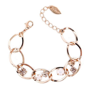 Juliet Crystal Chain Bracelet