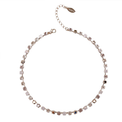 Juliet, 6mm Full Crystal Necklace
