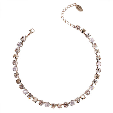 Juliet, 8mm Full Crystal Necklace