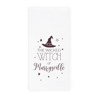The Wicked Witch of Murrysville, Halloween Towel, Wholesale