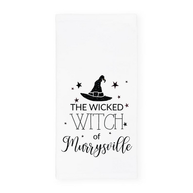 The Wicked Witch of Murrysville, Glitter Halloween Towel, Wholesale