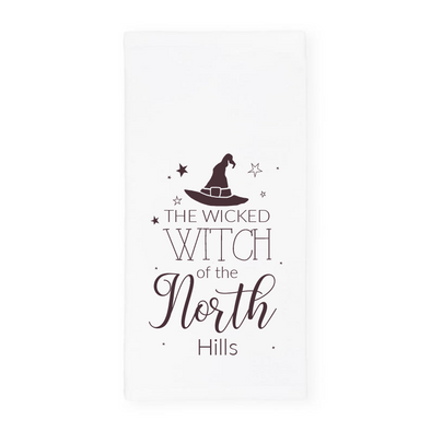 The Wicked Witch of The North Hills, Halloween Towel, Wholesale