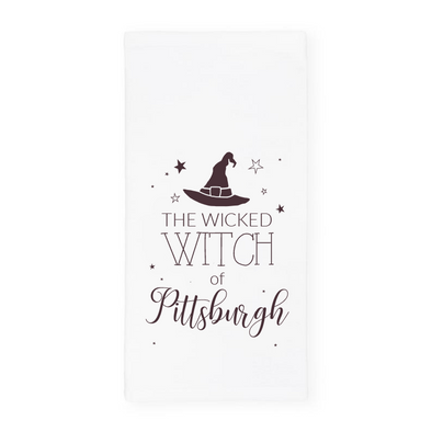 The Wicked Witch of Pittsburgh, Halloween Towel, Wholesale