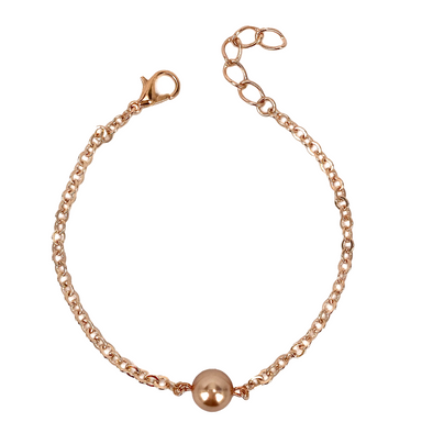 Rose Gold Pearl, Chain Bracelet, Wholesale