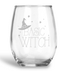 Basic Witch, Stemless Wine Glass