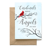 Cardinals Appear When Angels are Near, Bereavement Card