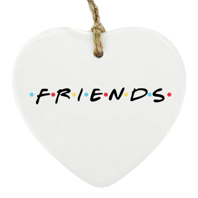 Friends Heart Ornament, Wholesale