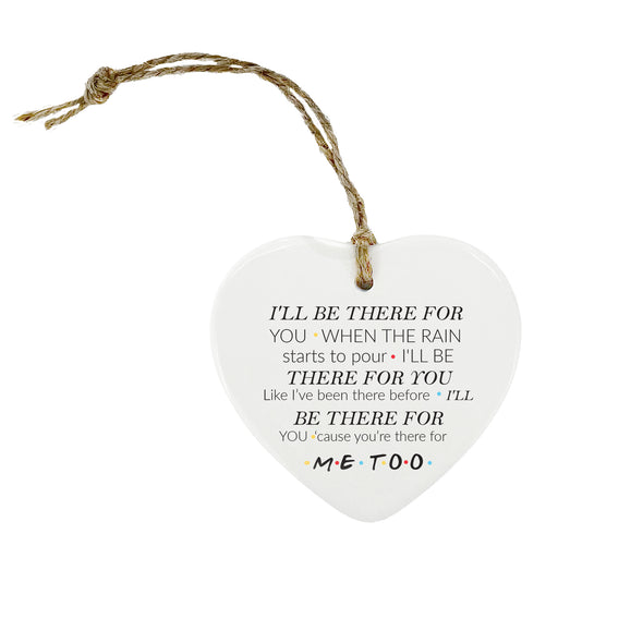 Friends Heart Ornament